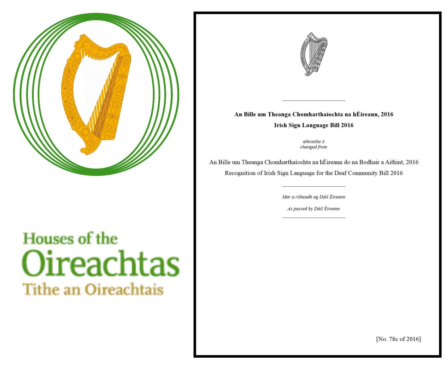 Irish Sign Language Act 2017 - O'Herlihy Access Consultancy