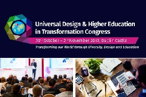 UDHEIT Logo and image of conference