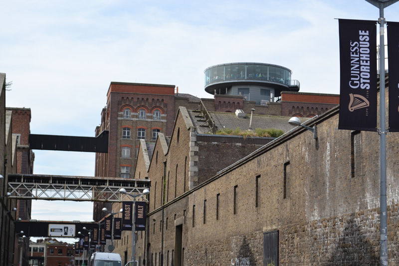 In 1997, it was decided to convert the old Guinness storehouse ...